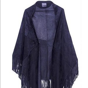 AS by DF Black Nocturnal shawl new with tag